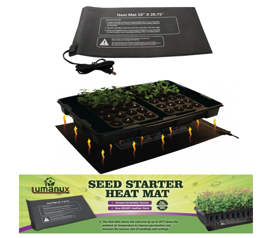 seed starting heat mat